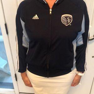 Adidas Sporting KC Youth Medium Jacket-10/12
